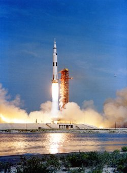 Apollo 11 liftoff!
